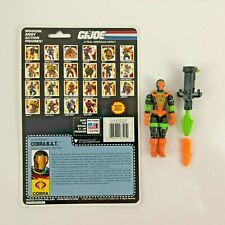 GI Joe 1991 Cobra BAT v2 Complete with Uncut File Card