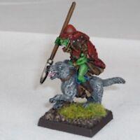 Goblin Wolfrider with yari Warhammer Fantasy Armies 28mm Unpainted Wargames