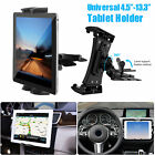 """CD Slot Car Mount Phone Holder Stand Cradle for 4.5""""-13"""" iPad Galaxy Tab Tablet"""
