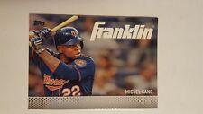 2016 Topps Franklin #TF-18 Miguel Sano Baseball Card