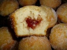 8 HOMEMADE DONUT or JELLY DONUT MUFFINS * Berry or Orange Marmalade *