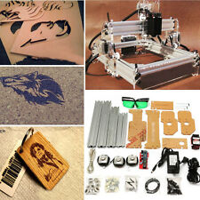 2000mW 2W Desktop Laser Engraver Cutting Machine DIY Mark Logo Engraving Printer