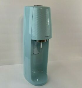 Sodastream Fizzi Icy Blue Carbonated Sparkling Water Soda Machine SPT-001