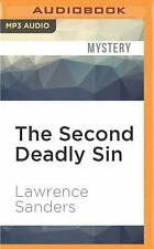 Edward X. Delaney: The Second Deadly Sin 3 by Lawrence Sanders (2016, MP3 CD,...