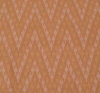 Baby Star Burst by Prints Charming for Marcus BTY Mod Retro Yellow on Brown