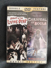Night of the Living Dead / Carnival of Souls (DVD, 2002) NEW!