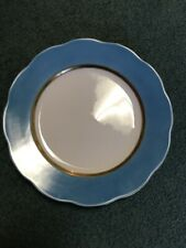 Herend Silk Ribbon 11� Plate New! Mint! Also Available In Other Colors
