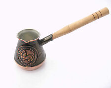 Armenian 1-2 cup Turkish New Coffee Pot Maker Armenia Jezve Cezve Ibrik Copper