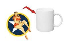 USAF COCCARDA PINUP caffè tazza us army navy Mug SEALS MARINA AIRFORCE NASO art.