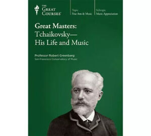 The Great Courses Great Masters: Tchaikovsky - His Life and Music Course CD's