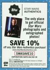 STAR WARS 2018 Solo: A Star Wars Story DENNYS Coupon Card!! Target + Authentics