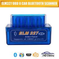 ELM327 OBD2 Bluetooth Car Diagnostic Fault Code Reader Clearer Scanner 7W