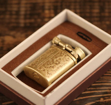 Vintage Copper Brass Lighter Antique Cigar Torch Military Collectable Lighters