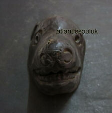 M524 Nepalese crafted antique Animal Face Pig Wall Hanging gift old WOODEN MASK