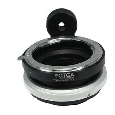 FOTGA Tilt & Shift Adattatore per Nikon F LENTI Sony E SUPPORTO NEX-7 6 5 5R 3