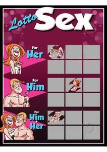 Sex Games Couples Foreplay Fun Scratch off Cards Adults Him & Her 6 TICKETS