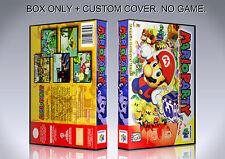 MARIO PARTY. NTSC VERSION. Box/Case. Nintendo 64. BOX + COVER. (NO GAME).