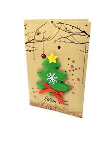 10 X Seasonal Greeting Card Christmas Holiday wishes Handmade AU STOCK