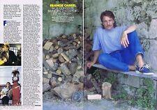 COUPURE DE PRESSE CLIPPING 1989 Francis Cabrel  (2 pages)