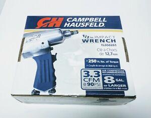 "Campbell Hausfeld 1/2"" Air Impact Wrench 1/4"" Npt"