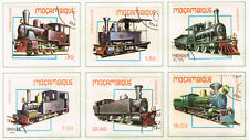 Mozambique Railroad Train Locomotive set 1979