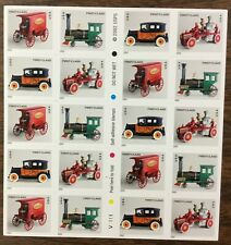 3626-3629e Antique Toys. Mnh (37¢) Self-adhesive sheet of 20. Issued 2002.