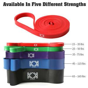 Resistance Bands Set Pull Up Band Power Bands Long For Heavy Lifting Workout