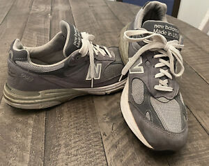 NEW BALANCE 993 MADE IN USA MR993GL Kith RUNNING SHOE GREY MENS SIZE 10.5 D