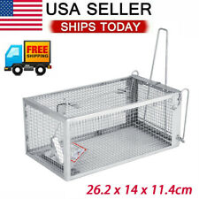 New listing Small Mouse Trap Rat Trap Rodent Trap Live Catch Cage Easy to Set Up and Reuse