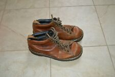 DR. MARTENS Doc Martin Brown Air Wair Boots size 8 Men's 8287  Leather bouncing