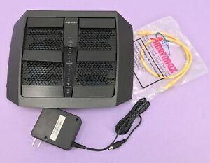 NETGEAR Nighthawk X6 AC3000 Tri-band WiFi Gigabit Router R7900P Black #U2555
