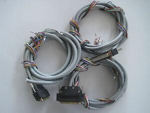 1x 37pol. Buchse mit Kabel Unitronic FD-CP 10x0,25 für Digiforce Burster
