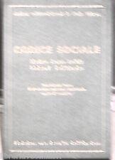 CODICE SOCIALE Schema d una sintesi sociale  Edizioni La civilta cattolica di e