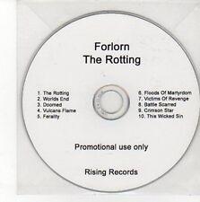 (CC700) Forlorn, The Rotting - DJ CD