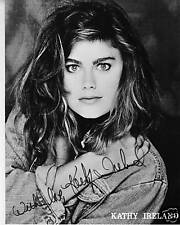 Kathy Ireland  Signed photo 8x10