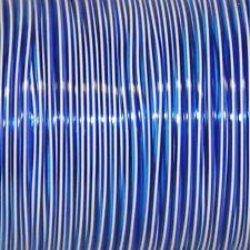 100 Yard (91M) Spool TRI chiaro BLU BIANCO, VIOLA rexlace PLASTICA allacciatura Crafts