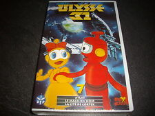 VINTAGE K7 vhs VIDEO SOUS BLISTER  ULYSSE 31 fox kids n°7