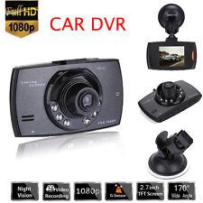 "1080P HD 2.7"" LCD Car DVR Dash Camera Video Recorder Night Vision G-sensor 170°"