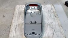 OEM 2003 Kia Sedona LX Gray Center Console Clock & Dome Light Trim W/O Homelink