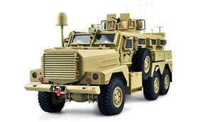 US-Miltitärfahrzeug MRAP 6x6 1:12 RTR, Licht, Sound & Rauch