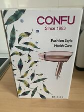 Brand New Confu Folding Ionic Hair Dryer,1800w,lightweight,compact,rose Gold