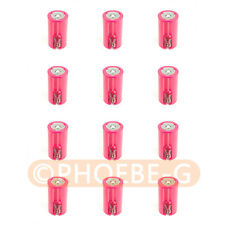 12pcs Red 3AA to D Parallel Adapter Battery Holder Convertor 3 AA/LR6 to 1D Size