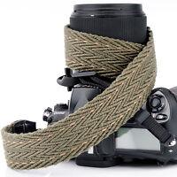 Army Green DSLR SLR Camera Shoulder Strap Neck Strap Belt Hand Grip Universal