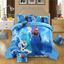 Disney Frozen 8pcs Comforter Set in a Bag Twin Full Queen Size Bedding Set