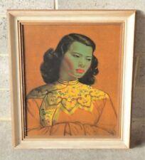 Lithograph Vintage Green Art Prints