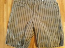 PATAGONIA WOMENS ALL-WEAR SHORTS - SIZE 14 - KHAKI/BLACK - BRAND NEW WITH TAGS