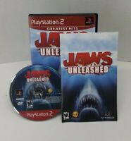 Jaws Unleashed Sony PS2 Game PlayStation 2 Tested Working Complete CIB