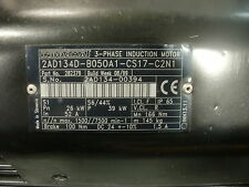 INDRAMAT 3 PHASE INDUCTION MOTOR 2AD134D-B050A1-CS17-C2N1