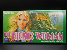 SEALED 1975 vintage BIONIC WOMAN boardgame Parker Brothers Canadian MIB Rare tv