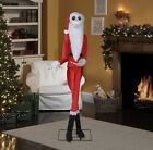 jack skellington As Sandy Claus life size 6.5ft animatronics